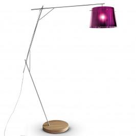 Slamp Woody - designová stojací lampa, purpurová