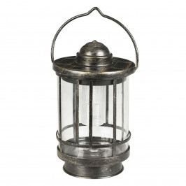 Dekorační stolní lampa LED Finlay stínidlo sklo
