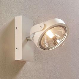 Bílý LED reflektor Leven pro stěny a strop