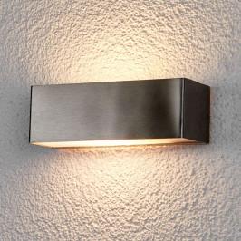 LED venkovní nástěnné svítidlo Alicja z nerezu