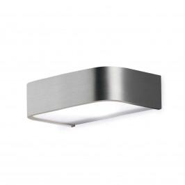 Koupelnové nástěnné světlo Arcos s LED 15 cm nikl