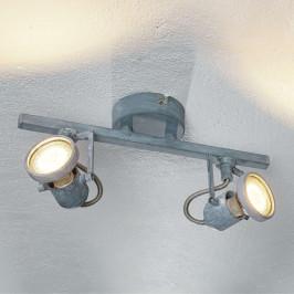Dvouzdrojové LED stropní svítidlo Concreto