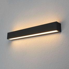 Hranaté LED venkovní nástěnné svítidlo Tuana