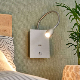 Flexibilní LED nástěnné světlo Marbod se stmívačem