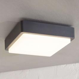 LED venkovní stropní svítidlo Nermin, hranaté