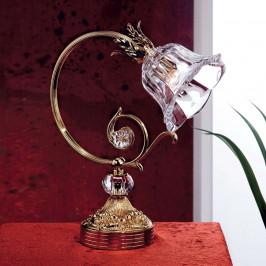 Stolní lampa Kaisa, zlacená 24 karáty