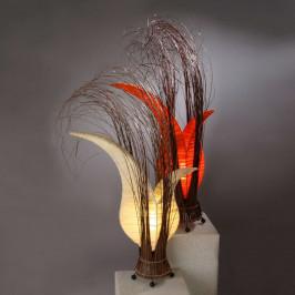 Bunga stolní lampa v květinovém tvaru