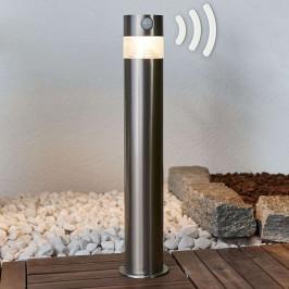 Kalypso - solární LED svítidlo se soklem z nerezu
