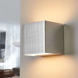 LED nástěnné světlo Kimberly, 9 x 9 cm, hliník