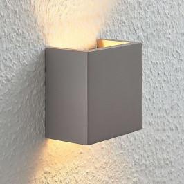 Betonové svítidlo Smira všedé, 12,5×12,5 cm