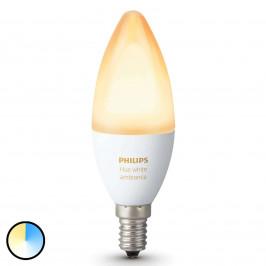 Philips Hue Svíčka bílá Ambiance E14 6W