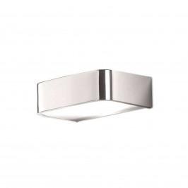 Koupelnové nástěnné světlo Arcos s LED 15 cm chrom