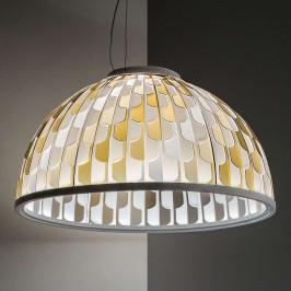 Slamp Dome LED závěsné světlo Ø 55 cm oranžové