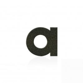 Domovní čísla hnědá mocca, písmena znak +