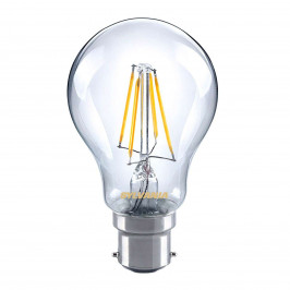 Sylvania B22 4W 827 LED vláknová žárovka, čirá