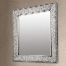Zrcadlo Sverre, čtvercové, starožitné stříbrné