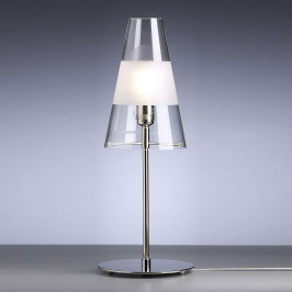 TECNOLUMEN Walter Schnepel stolní lampa, čirá/mat