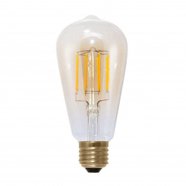 E27 6W 920 LED rustikální žárovka uhlíkové vlákno