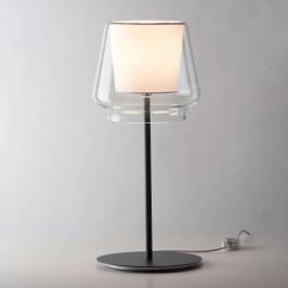 Casablanca Aleve stmívací stolní lampa, látka bílá