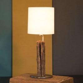 HerzBlut Starý kavalír stolní lampa plotové dřevo