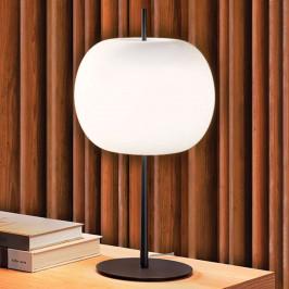 Kundalini Kushi XL stolní lampa, černá/bílá