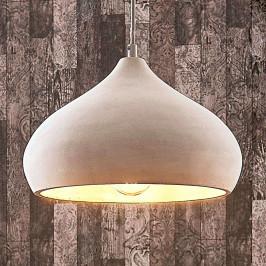 Betonové závěsné světlo Morton, Ø 29 cm