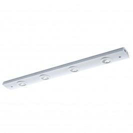 Čtyřzdrojové LED nábytkové světlo Delos