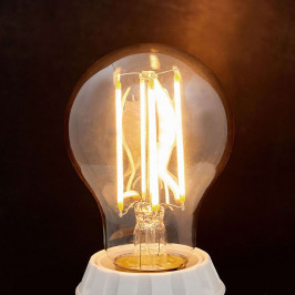Lindby E27 LED žárovka Filament 6 W 500 lm jantar 2 200 K