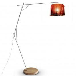 Slamp Woody - designová stojací lampa, oranžová