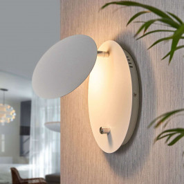 LED nástěnná lampa Chesta s postupným stmíváním