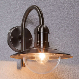 Damion - moderní nerezové venkovní nástěnné světlo