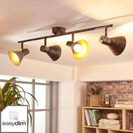 Čtyřbodové stropní LED světlo Zera, easydim