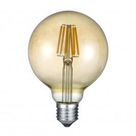 Trio Lighting LED žárovka E27 6W 2.700K jantar