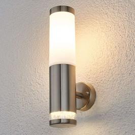 Binka - venkovní nástěnné svítidlo z nerezu