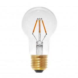 LED žárovka E27 3W 2600K tvar hrušky, čirá