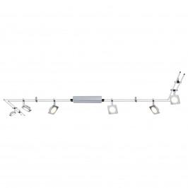 Paulmann QuadLED lištový systém, set 6-žárovkový