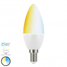 Müller Licht tint white LED svíčka E14 5,8W