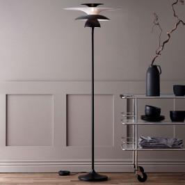 Stojací lampa LED Picasso, stínidlo 38 cm
