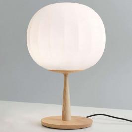Luceplan stolní lampa Lita noha jasan výška 46 cm