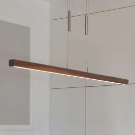 HerzBlut Leonora závěsné světlo LED ořech 160 cm