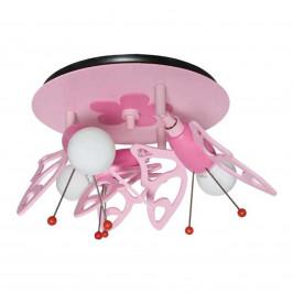 Dětské stropní svítidlo Motýl, 3 zdroje