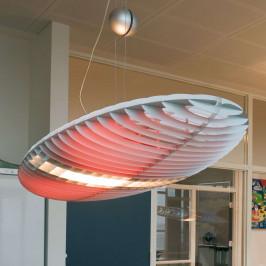Luceplan Titania závěsné světlo s barevnými filtry