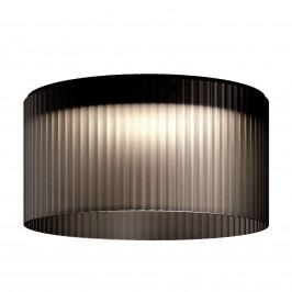 Kundalini Giass LED stropní svítidlo Ø 50 cm šedé