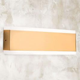 Garik - LED nástěnné světlo se zlatým tělesem