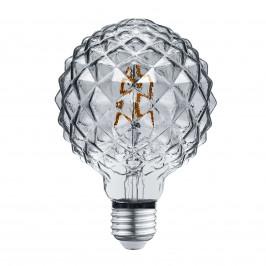 Trio Lighting LED světelný zdroj E27 4W 3,000K struktura kouř