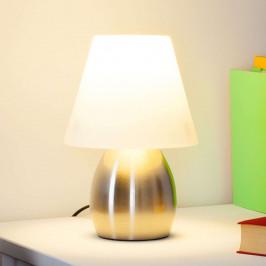 Dekorativní stolní lampa Emilan s LED žárovkou E14