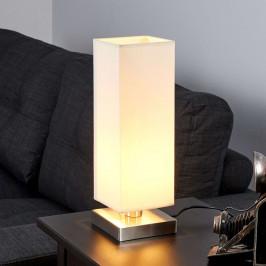 Martje - bílá noční lampička s LED žárovkou E14
