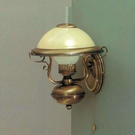 Nástěnné světlo Valentina ve starožitném designu