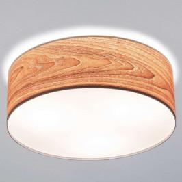 Paulmann Liska stropní světlo s dřevěným stínidlem