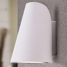 Bílé LED venkovní nástěnné světlo Ulick